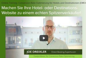 Hotelmarketing online – Videokurs für Praktiker